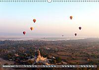 Ballons über Bagan (Wandkalender 2019 DIN A3 quer) - Produktdetailbild 11