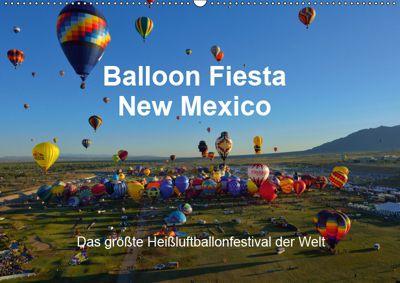 Balloon Fiesta New Mexico (Wandkalender 2019 DIN A2 quer), Hans-Gerhard Pfaff