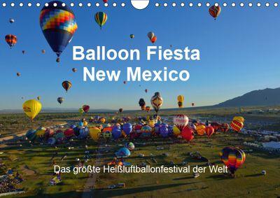 Balloon Fiesta New Mexico (Wandkalender 2019 DIN A4 quer), Hans-Gerhard Pfaff