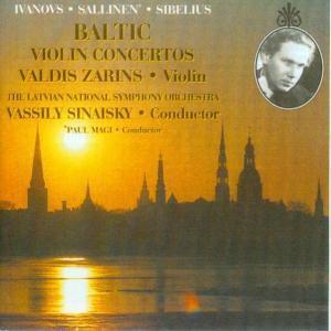 Baltic Violin Concertos, Valdis   Latvian Ntl.symph.orch.  Zarins