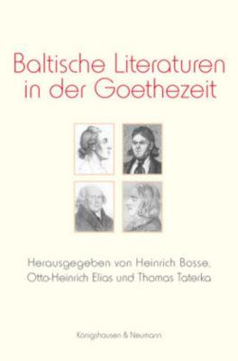 Baltische Literaturen in der Goethezeit