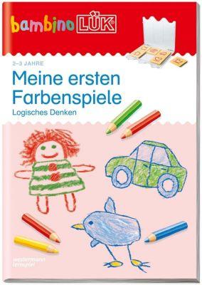 bambinoLÜK-Übungshefte: .119 Meine ersten Farbenspiele: Logisches Denken