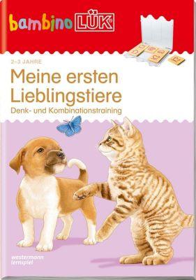 bambinoLÜK-Übungshefte: .25 Meine ersten Lieblingstiere -  pdf epub