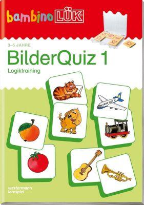 bambinoLÜK-Übungshefte: Bilder Quiz 1