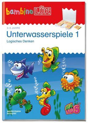 bambinoLÜK-Übungshefte: H.163 Unterwasserspiele