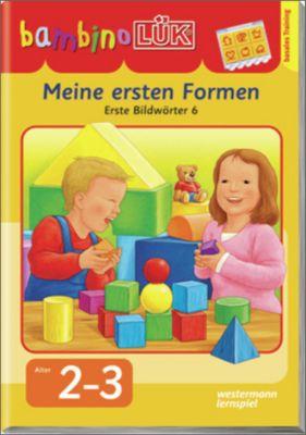 bambinoLÜK-Übungshefte: Meine ersten Formen