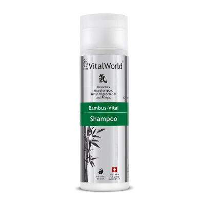 Bambus-Vital Shampoo, 200ml von VitalWorld