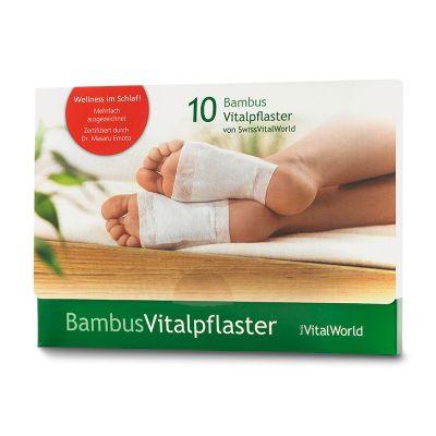 Bambus Vitalpflaster, 10er Pack von VitalWorld