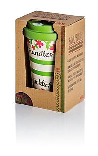 """Bambusbecher """"to go"""" - Grundlos glücklich - Produktdetailbild 1"""