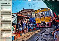 Bangkok - Königreich Thailand (Wandkalender 2019 DIN A3 quer) - Produktdetailbild 11