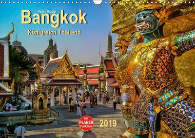 Bangkok - Königreich Thailand (Wandkalender 2019 DIN A3 quer), Peter Roder