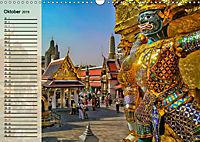 Bangkok - Königreich Thailand (Wandkalender 2019 DIN A3 quer) - Produktdetailbild 10