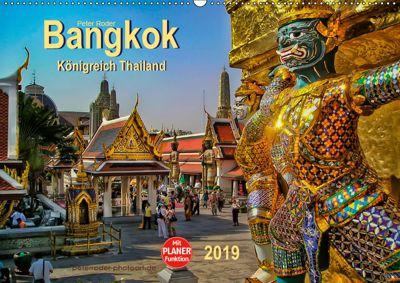 Bangkok - Königreich Thailand (Wandkalender 2019 DIN A2 quer), Peter Roder