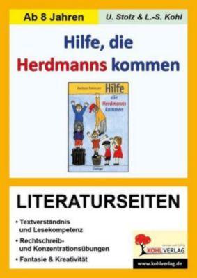 Barbara Robinson 'Hilfe die Herdmann kommen', Literaturseiten, Ulrike Stolz, Lynn-Sven Kohl