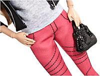Barbie Deluxe-Moden Fashionistas Barbie mit pinker Jeans CFM76 - Produktdetailbild 1