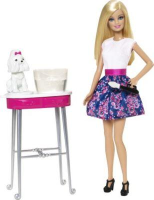 Barbie Farbspaß Tiersalon CFN40