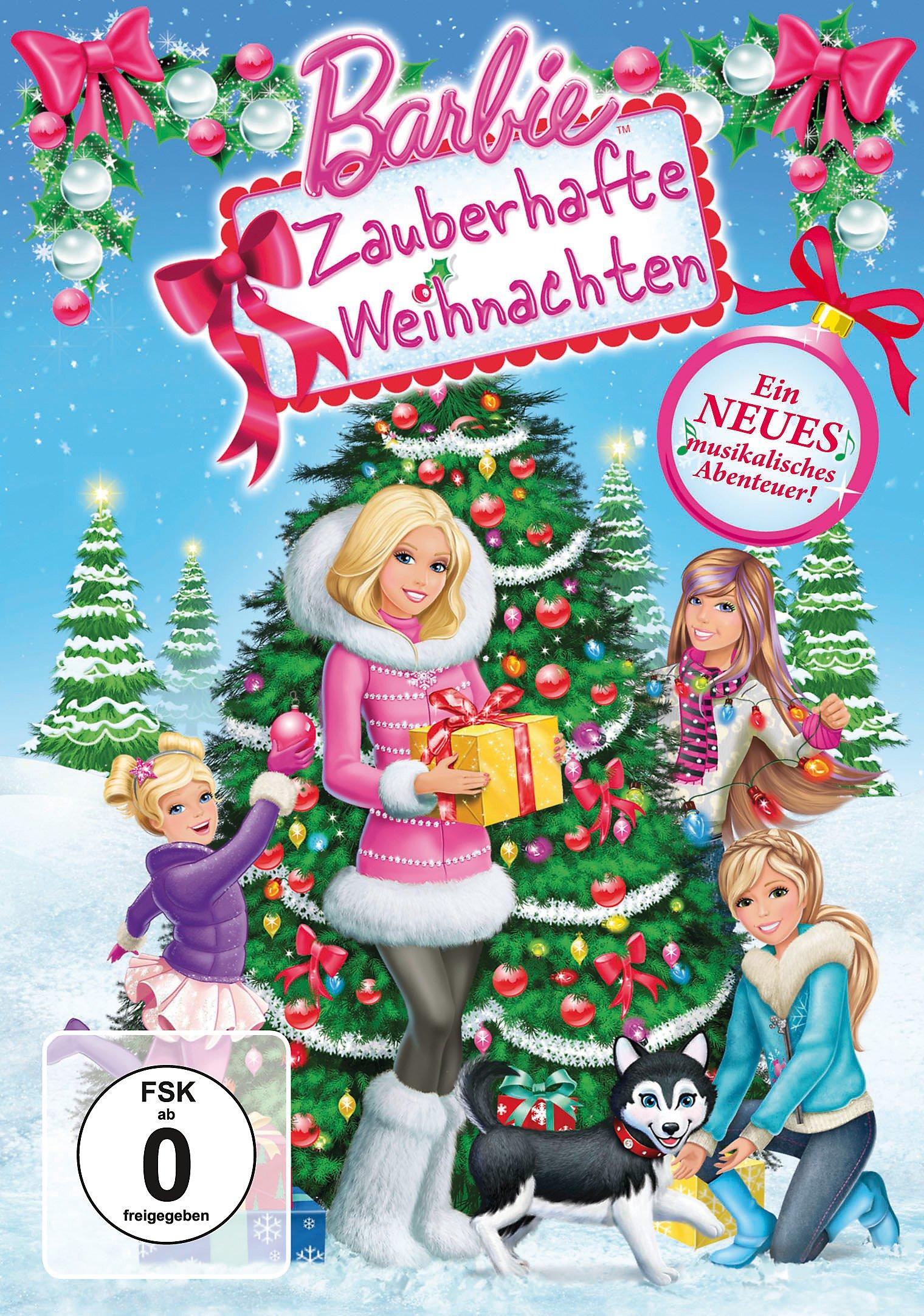Barbie - Zauberhafte Weihnachten DVD bei Weltbild.de bestellen