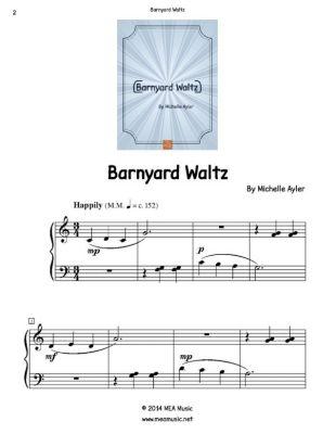 Barnyard Waltz, Michelle Ayler
