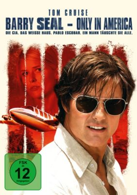 Barry Seal - Only in America, Domhnall Gleeson,Sarah Wright Tom Cruise