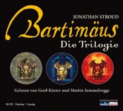 Bartimäus, Die Trilogie, Hörbuch, Jonathan Stroud