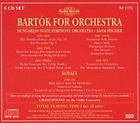 Bartok For Orchestra - Produktdetailbild 1