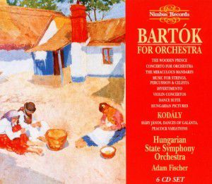 Bartok For Orchestra, Adam Fischer, Hungarian State Symphony Orchestra
