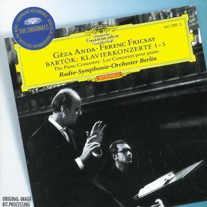 Bartók: Piano Concertos Nos.1-3, Geza Anda, Ferenc Fricsay, Rsob