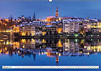Basel und Laufenburg - Romantische Altstädte am Rhein (Wandkalender 2019 DIN A2 quer) - Produktdetailbild 1