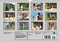 Basenji the African Barkless Dog (Wall Calendar 2019 DIN A4 Landscape) - Produktdetailbild 13