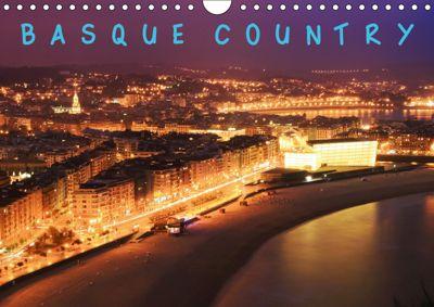 Basque Country (Wall Calendar 2019 DIN A4 Landscape), MARIUSZ CZAJKOWSKI