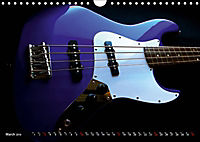 BASS GUITARS put into the spotlight (Wall Calendar 2019 DIN A4 Landscape) - Produktdetailbild 3