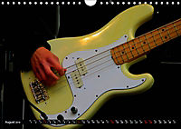 BASS GUITARS put into the spotlight (Wall Calendar 2019 DIN A4 Landscape) - Produktdetailbild 8
