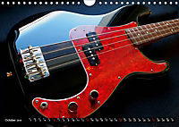 BASS GUITARS put into the spotlight (Wall Calendar 2019 DIN A4 Landscape) - Produktdetailbild 10