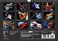 BASS GUITARS put into the spotlight (Wall Calendar 2019 DIN A4 Landscape) - Produktdetailbild 13