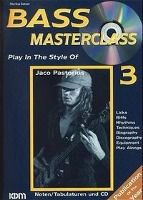 Bass Masterclass, m. Audio-CDs: Bd.3 Play in the Style of Jaco Pastorius, m. Audio-CD, Markus Setzer