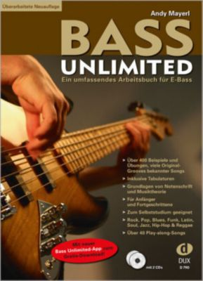 Bass Unlimited, m. 2 Audio-CDs, Andy Mayerl