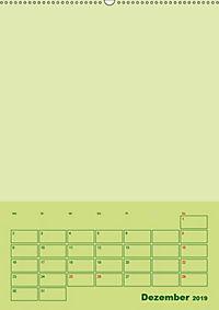 Bastel Terminkalender (Wandkalender 2019 DIN A2 hoch) - Produktdetailbild 12