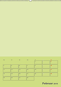 Bastel Terminkalender (Wandkalender 2019 DIN A2 hoch) - Produktdetailbild 2