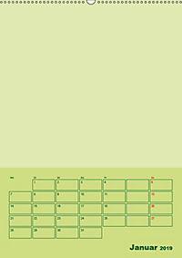 Bastel Terminkalender (Wandkalender 2019 DIN A2 hoch) - Produktdetailbild 1