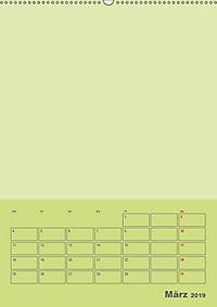 Bastel Terminkalender (Wandkalender 2019 DIN A2 hoch) - Produktdetailbild 3