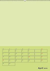 Bastel Terminkalender (Wandkalender 2019 DIN A2 hoch) - Produktdetailbild 4