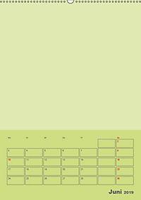 Bastel Terminkalender (Wandkalender 2019 DIN A2 hoch) - Produktdetailbild 6