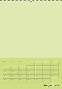 Bastel Terminkalender (Wandkalender 2019 DIN A2 hoch) - Produktdetailbild 8