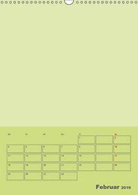 Bastel Terminkalender (Wandkalender 2019 DIN A3 hoch) - Produktdetailbild 2