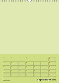 Bastel Terminkalender (Wandkalender 2019 DIN A3 hoch) - Produktdetailbild 9