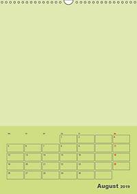 Bastel Terminkalender (Wandkalender 2019 DIN A3 hoch) - Produktdetailbild 8