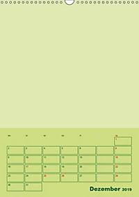 Bastel Terminkalender (Wandkalender 2019 DIN A3 hoch) - Produktdetailbild 12