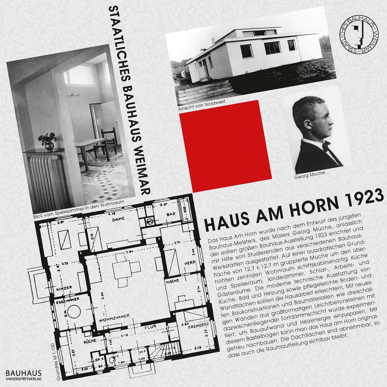 Bastelbogen Haus Am Horn 1923 Jetzt Bei Weltbild De Bestellen