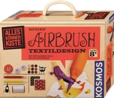 Bastelbox Airbrush Textildesign