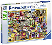 Bastelregal, Colin Thompson. Puzzle 1500-3000 Teile - Produktdetailbild 1